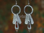 Unique Tribal Style Bellydance Dangle Earrings FE011