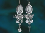 Unique Tribal Style Bellydance Dangle Earrings FE014