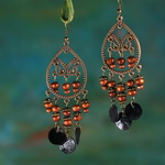 Ethnic Tribal Dangle Earrings FE087H