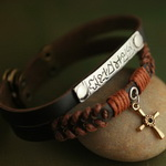 Ethnic Tribal Leather Bracelet L023
