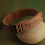 Ethnic Tribal Leather Bracelet L037