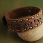 Ethnic Tribal Leather Bracelet L038