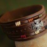 Surf Jewelry Leather Bracelet L047