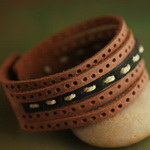 Surf Jewelry Leather Bracelet L048