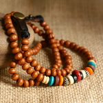 Ethnic Tribal Leather Surfer Bracelet LB001