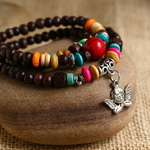 Ethnic Tribal Leather Surfer Bracelet LB017