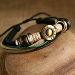 Ethnic Tribal Leather Surfer Bracelet LB047