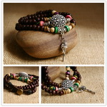 Ethnic Tribal Leather Surfer Bracelet LB081