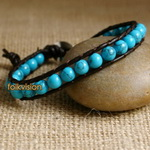 Ethnic Tribal Leather Surfer Bracelet LB100