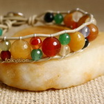 Ethnic Tribal Leather Surfer Bracelet LB105