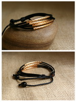 Ethnic Tribal Leather Surfer Bracelet LB115