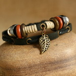 Ethnic Tribal Leather Surfer Bracelet LB140