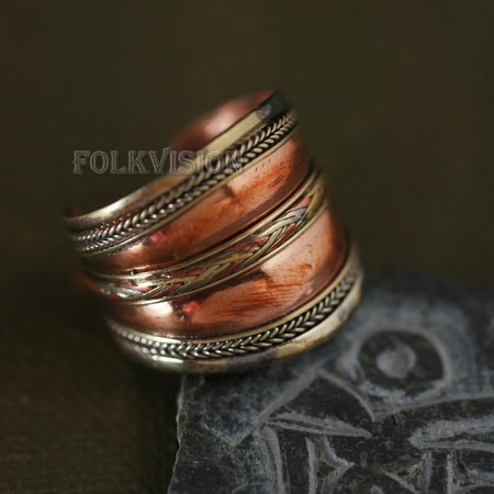 Ethnic Tribal Tibetan Handmade Ring TR001