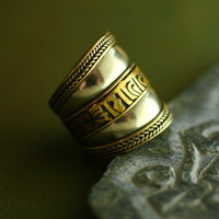 Ethnic Tribal Tibetan Handmade Ring TR012
