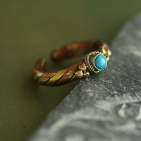 Ethnic Tribal Tibetan Handmade Ring TR014