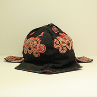 Vintage Chinese Tribal Yi Embroidered Baby Hat H5001