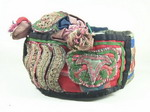 Vintage Chinese Tribal Dong Embroidered Baby Hat H7010