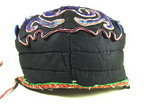Vintage Chinese Tribal Miao Embroidered Baby Hat H7011