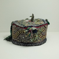 Vintage Chinese Tribal Dong Embroidered Baby Hat H7017
