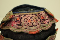 Vintage Chinese Tribal Miao Embroidered Baby Hat H7025
