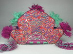 Vintage Chinese Tribal Miao Embroidered Baby Hat O5007