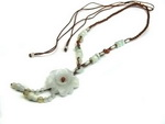 Unique Chinese Handmade Jade Necklace JD009