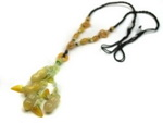 Unique Chinese Handmade Jade Necklace JD013