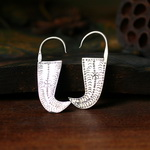 Ethnic Tribal Miao Handmade Earrings JE137