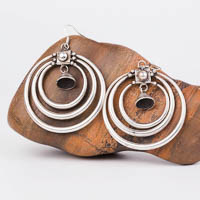 Ethnic Tribal Miao Handmade Earrings JE157