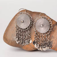 Ethnic Tribal Miao Handmade Earrings JE170