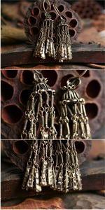 Ethnic Tribal Miao Handmade Earrings JE176