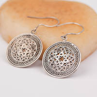 Ethnic Tribal Miao Handmade Earrings JE223