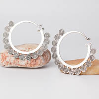 Ethnic Tribal Miao Handmade Earrings JE232