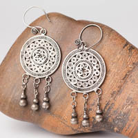 Ethnic Tribal Miao Handmade Earrings JE240