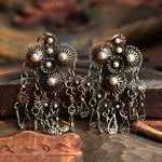 Ethnic Tribal Miao Handmade Earrings JE244