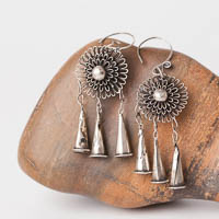 Ethnic Tribal Miao Handmade Earrings JE262