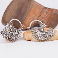 Ethnic Tribal Miao Handmade Earrings JE284