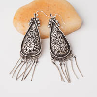 Ethnic Tribal Miao Handmade Earrings JE287