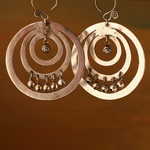 Ethnic Tribal Miao Handmade Earrings JE326