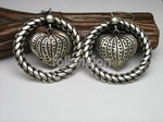 Ethnic Tribal Miao Handmade Earrings JE105