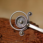 Tribal Ethnic Miao Handmade Hairpin JH055