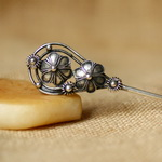 Tribal Ethnic Miao Handmade Hairpin JH118