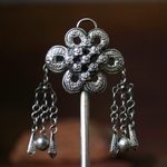 Tribal Ethnic Miao Handmade Hairpin JH136