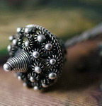 Tribal Ethnic Miao Handmade Hairpin JH145