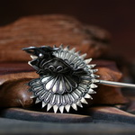 Tribal Ethnic Miao Handmade Hairpin JH154