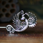 Tribal Ethnic Miao Handmade Hairpin JH161
