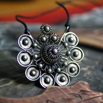 Tribal Miao Handmade Pendant Necklace MN042