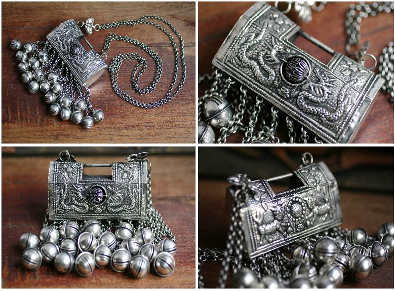 Tribal Miao Handmade Pendant Necklace MN072