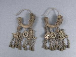 Old Tribal Miao Handmade Earrings JO020