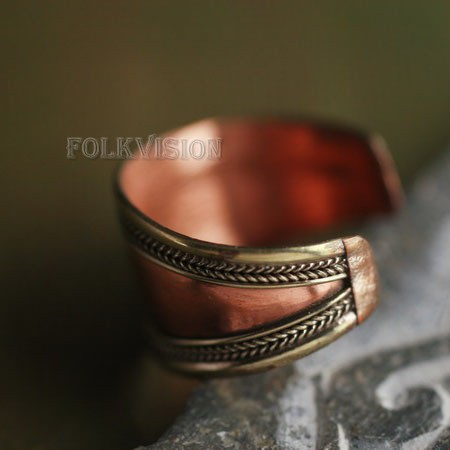 Ethnic Tribal Tibetan Handmade Ring TR008 - Click Image to Close